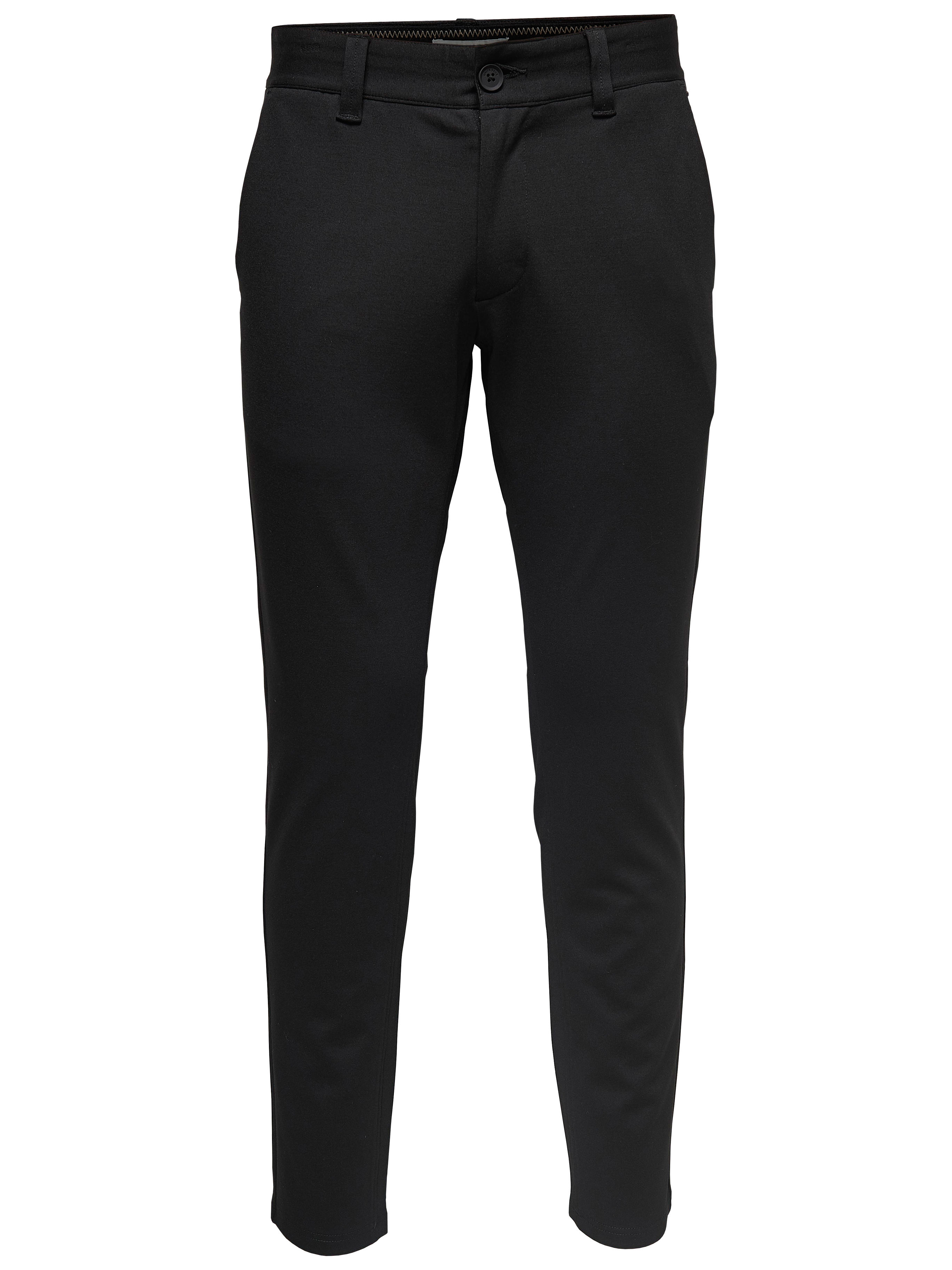 Performance Pants, Only & Sons, Mark chinos, black, 33/34