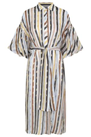 Munthe Palmetto kjole, white, 34
