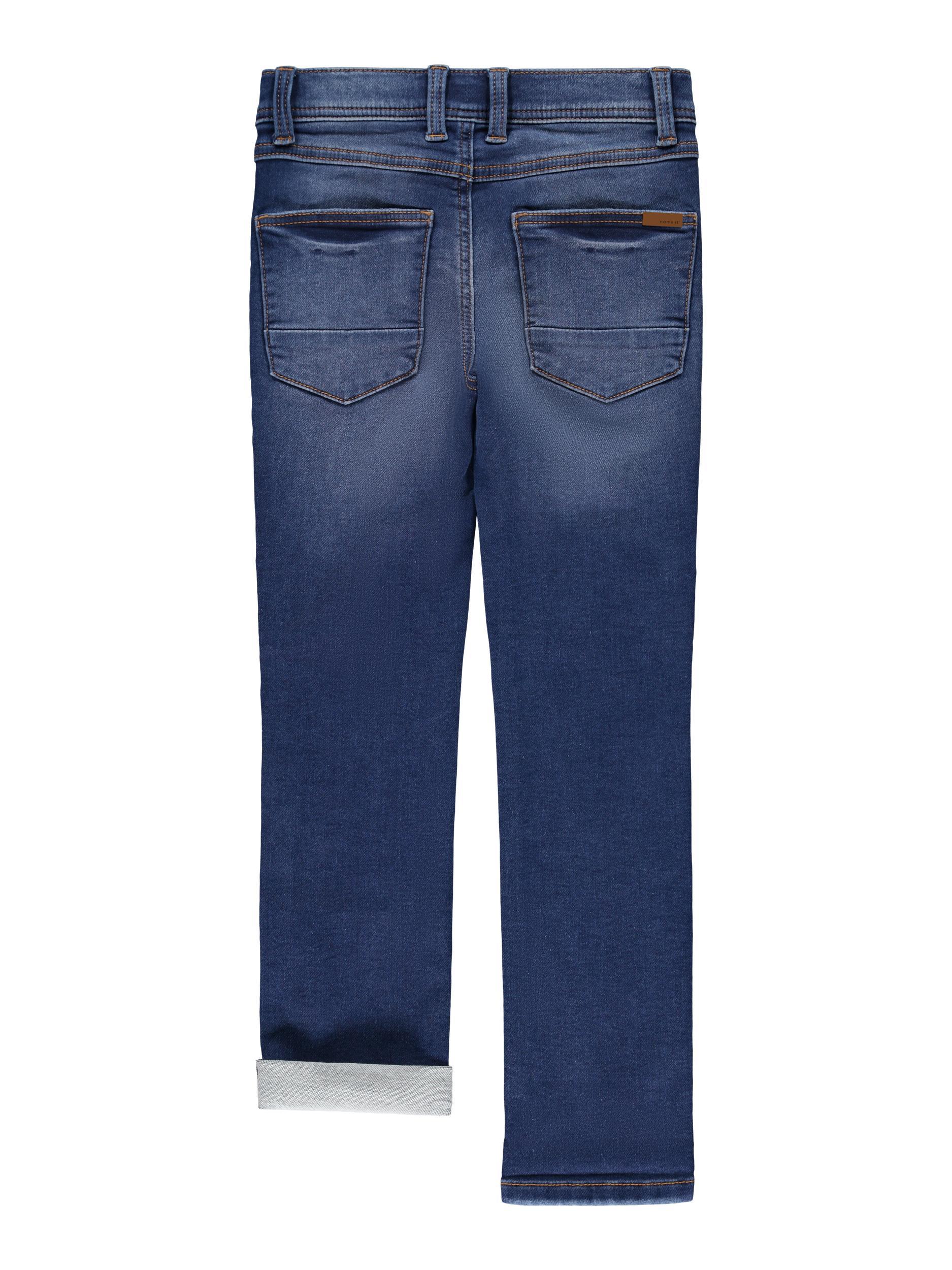 Name It Theo Times jeans, dark blue denim, 116