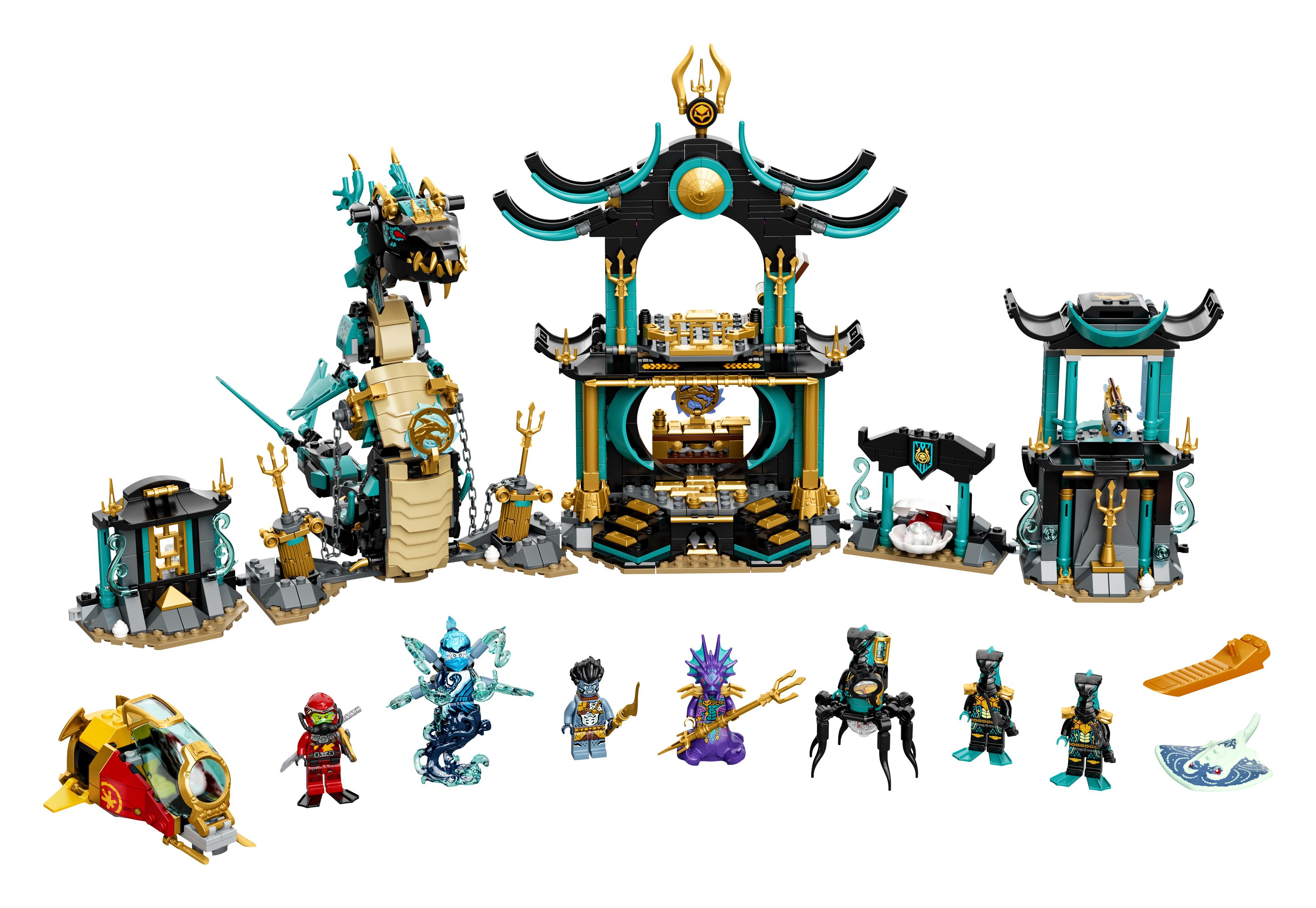 LEGO Ninjago Det Uendelige Havs tempel - 71755