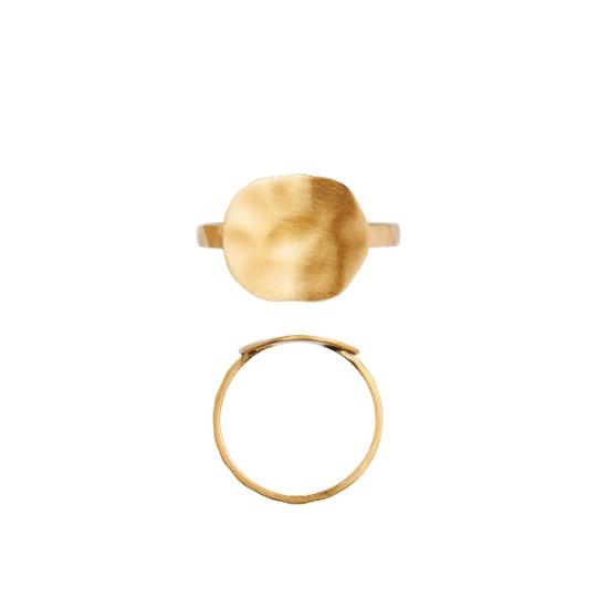 Stine A Coin ring, guld, 46