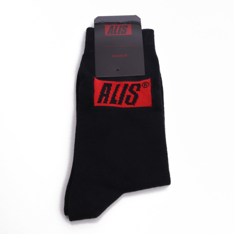 ALIS Classic strømper, black, 43/46