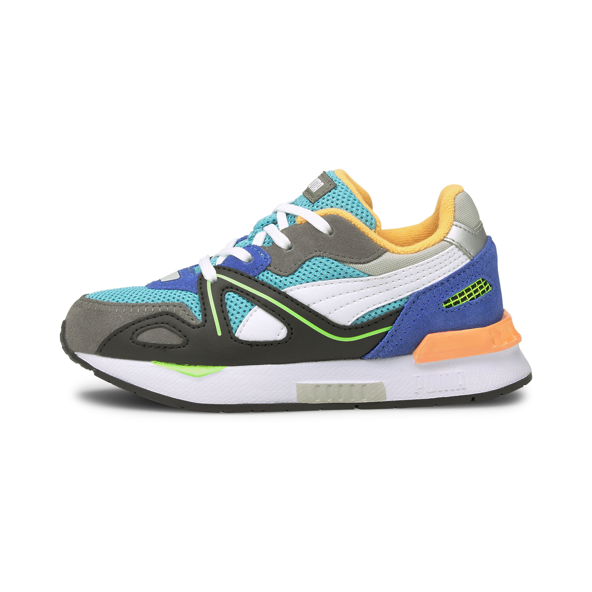 Puma Mirage Mox Vision PS sneakers, blue atoll-steel gray, 33