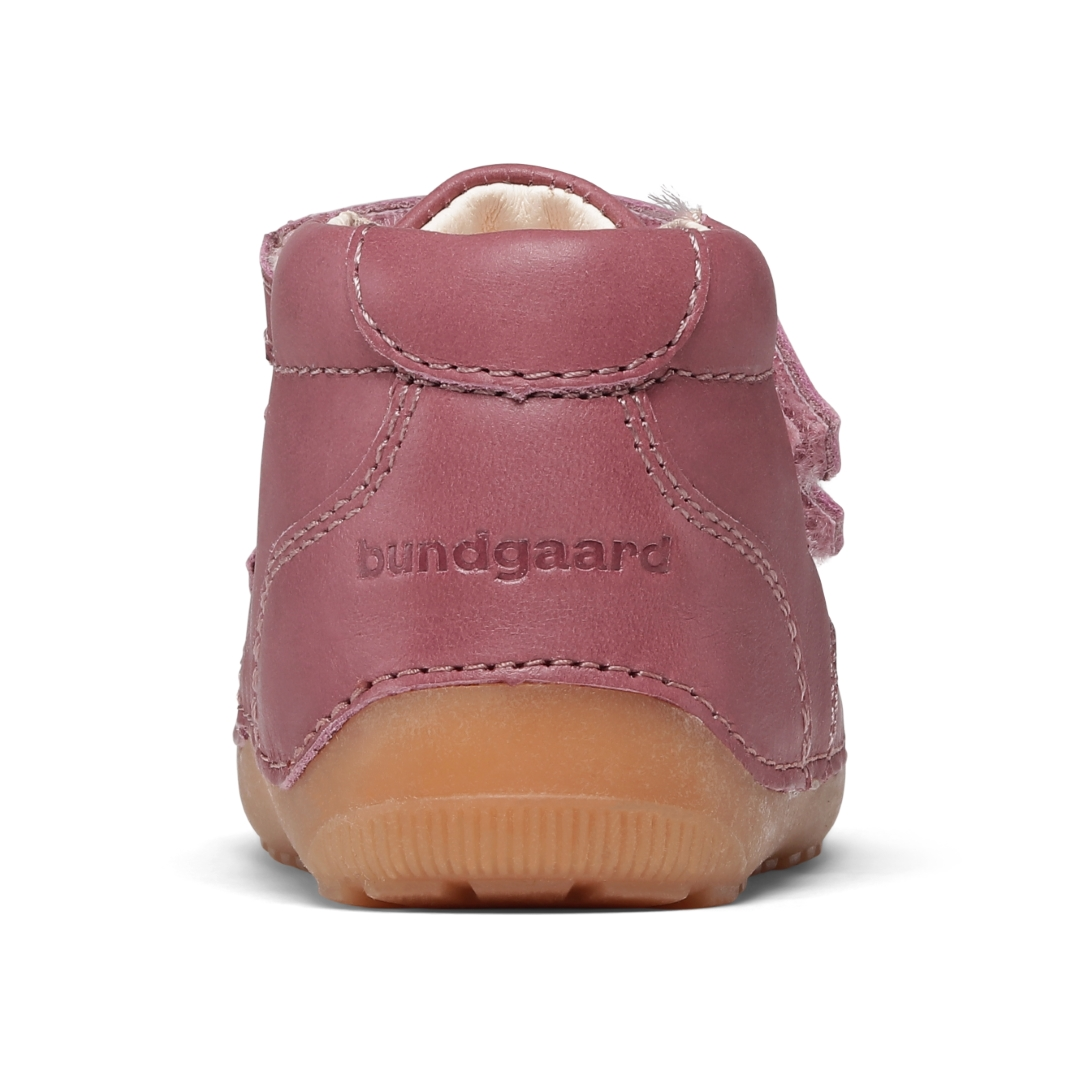 Bundgaard Petit Velcro sko, dark rose, 20