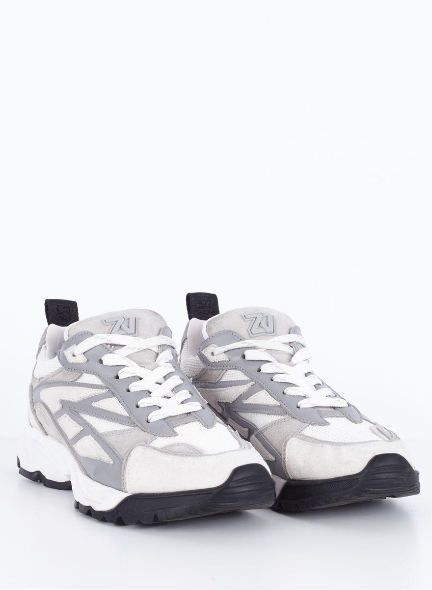Zadig & Voltaire Wave sneakers, gris moyen, 40