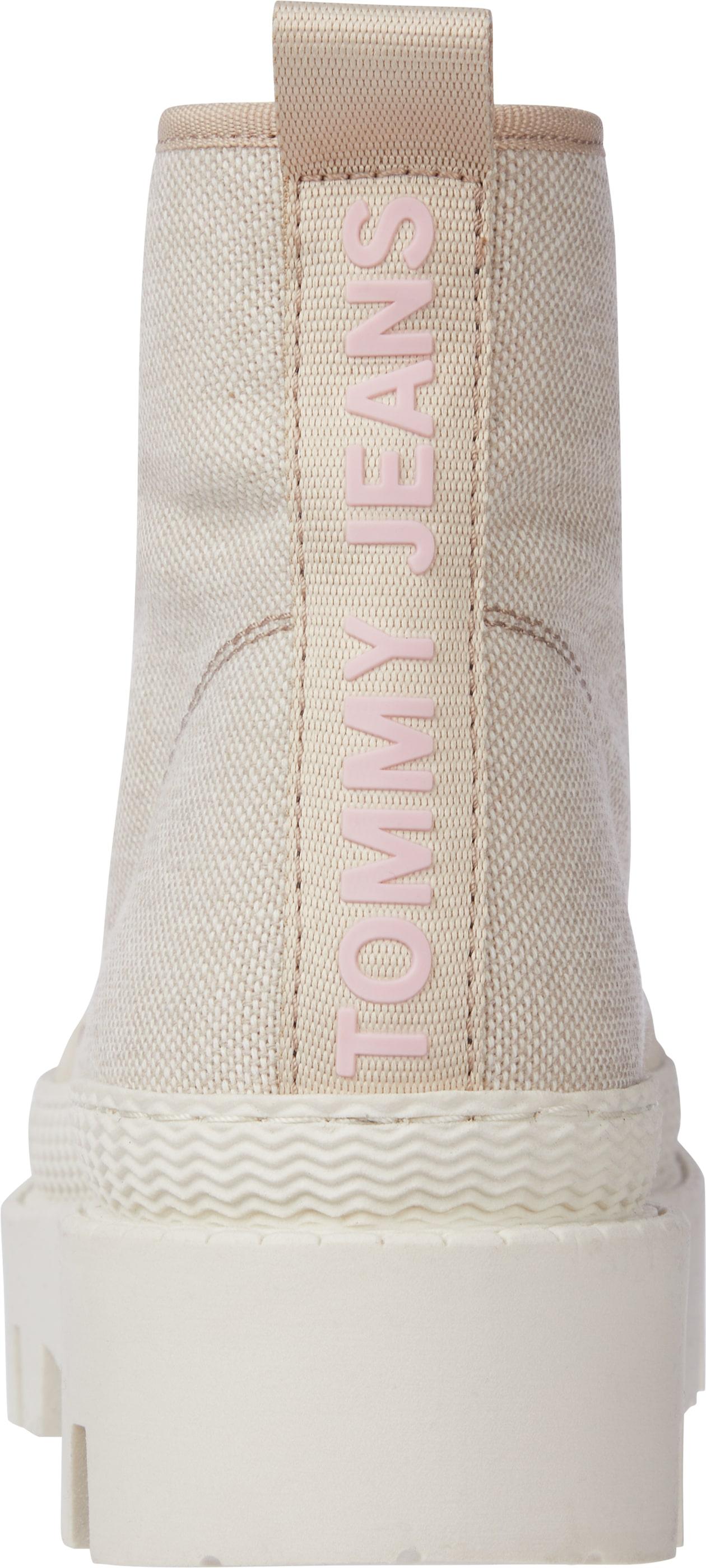 Tommy Hilfiger Tommy Jeans støvle, smooth stone, 40