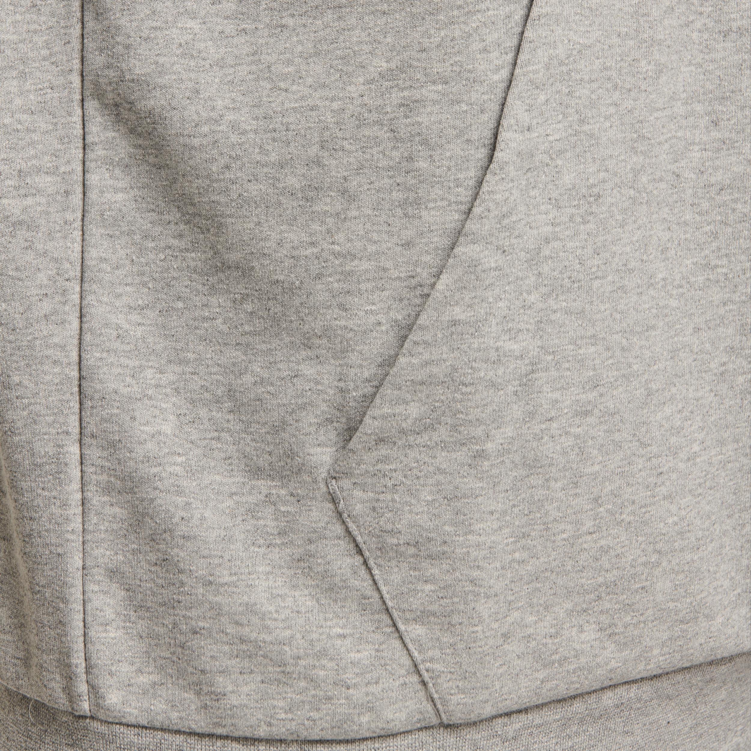 Hummel Isam hoodie, grey melange, xx-large