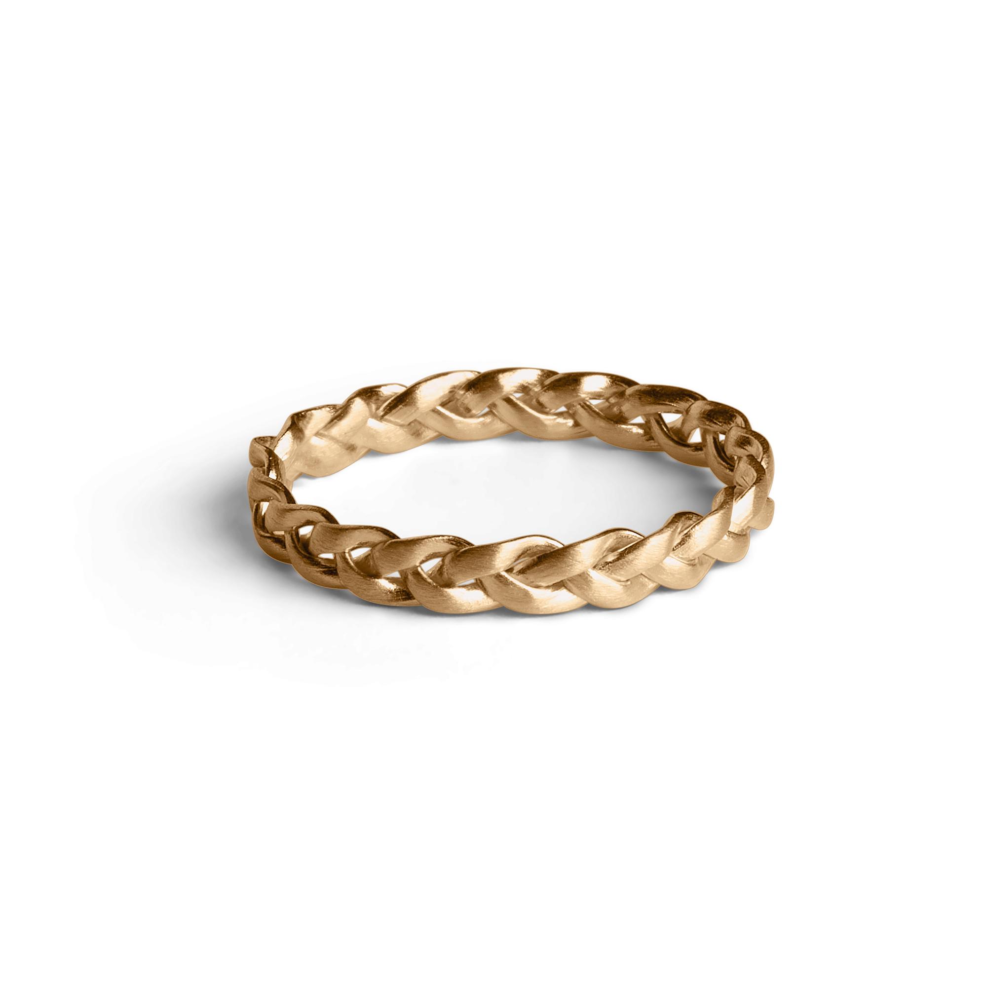 Jane Kønig small Braided ring