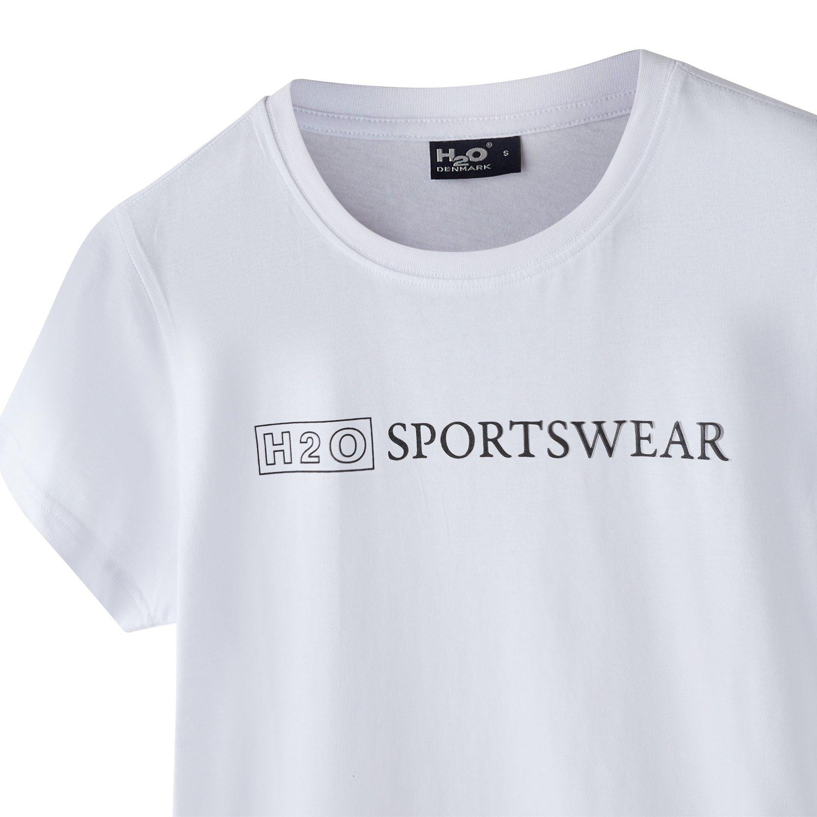 H2O Birkholm t-shirt, white, x-small
