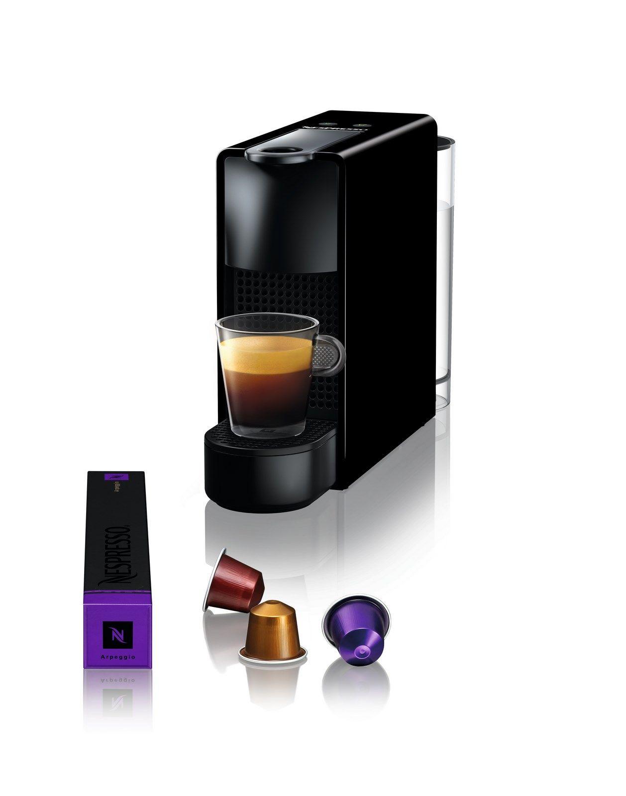 Nespresso® Essenza Mini C30 kaffemaskine, piano black