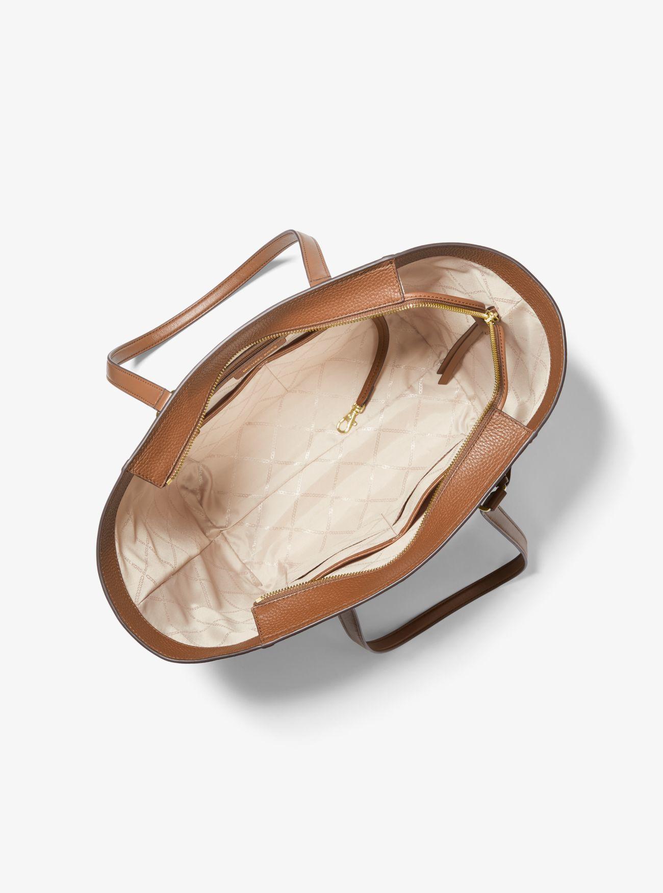 Michael Kors Carine Medium Pebbled Tote taske, luggage