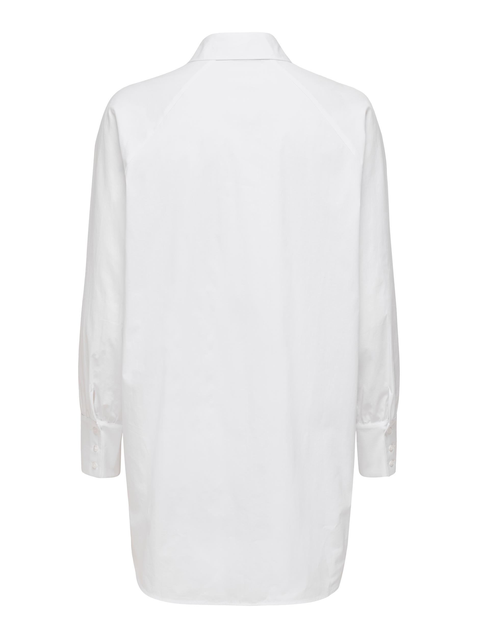 Only Kat lang skjorte, white, x-small
