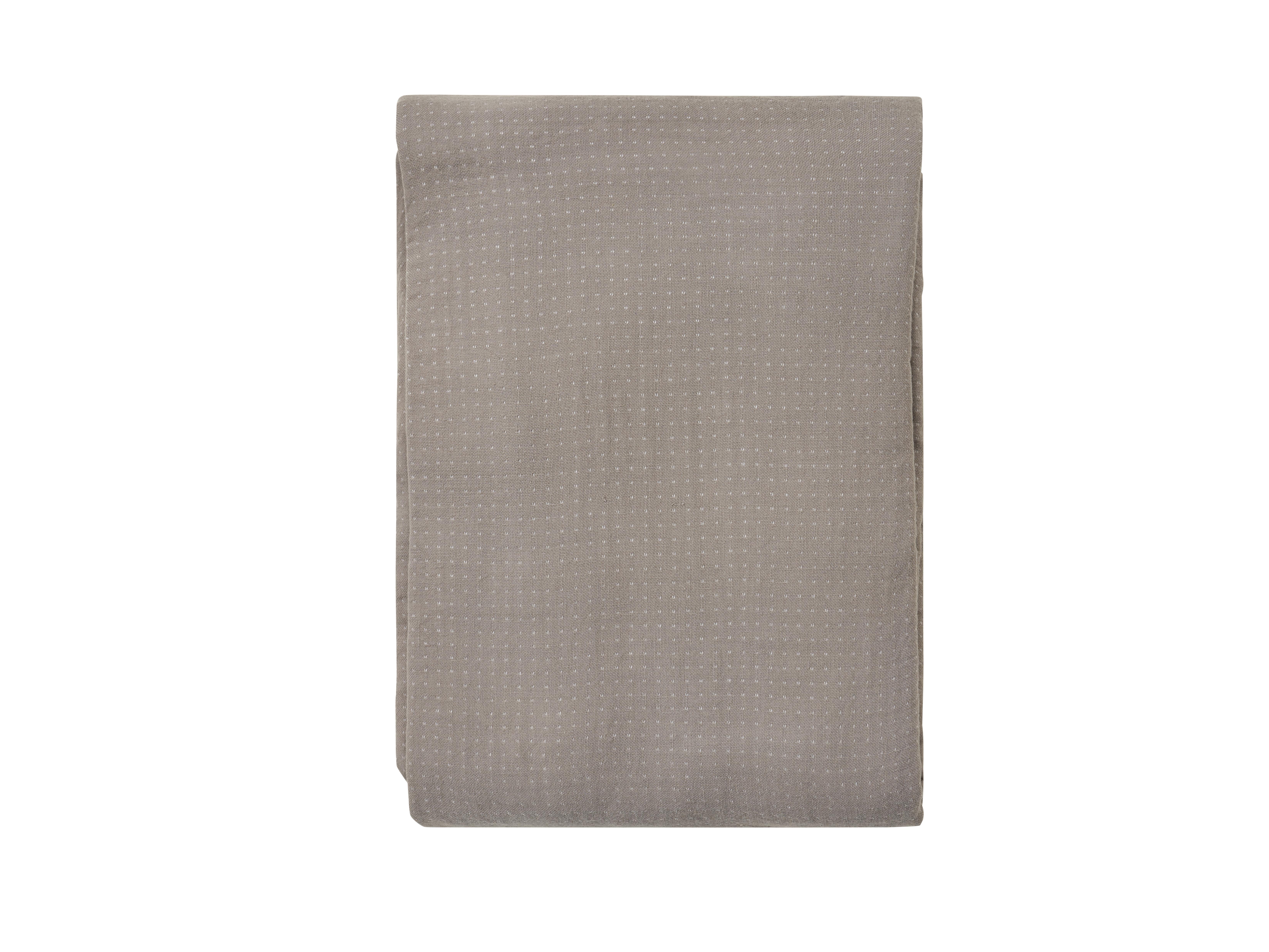 Södahl Point sengetæppe, 200x260 cm, grå