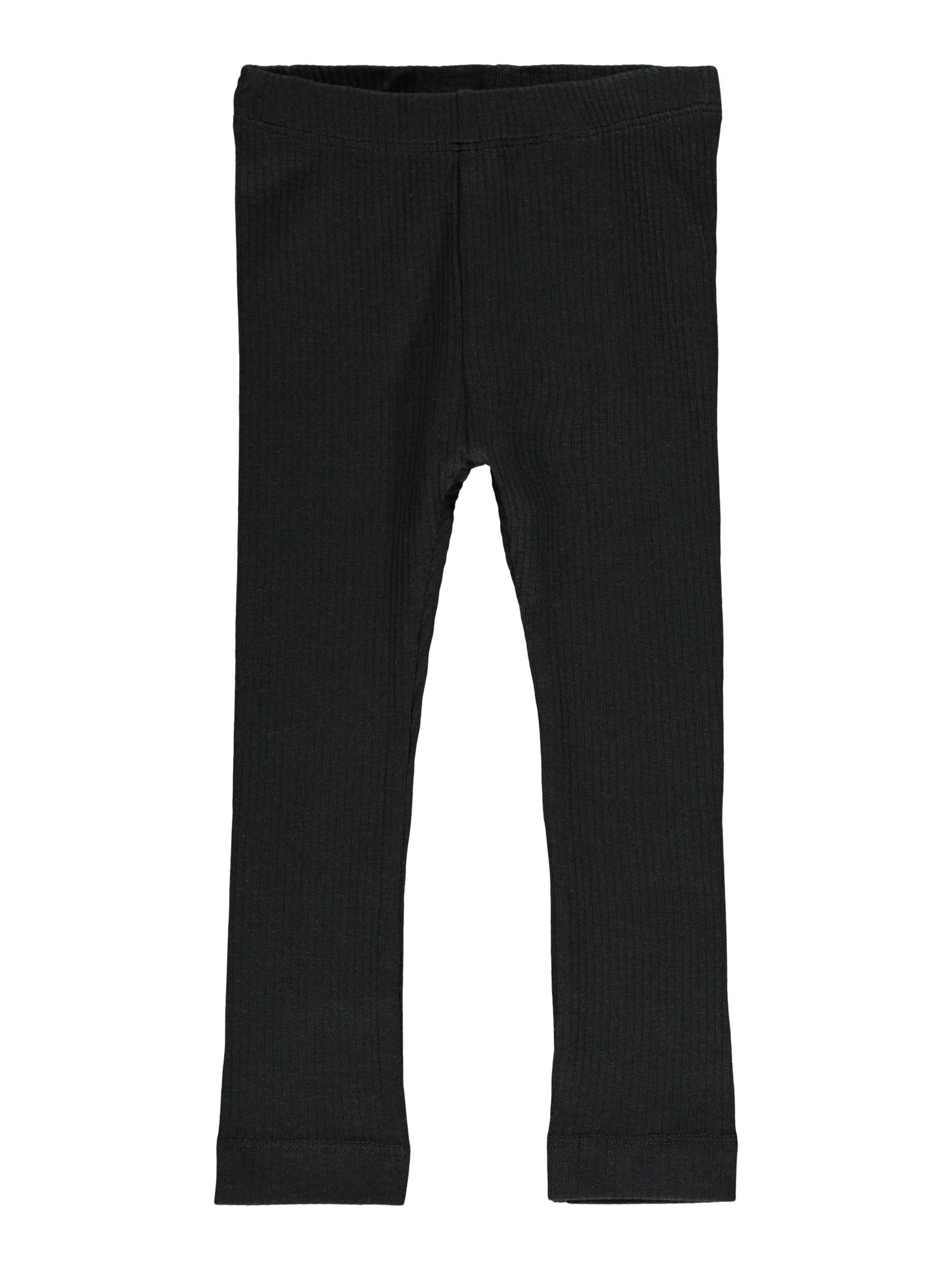 Name It Bille rib leggings, black, 68