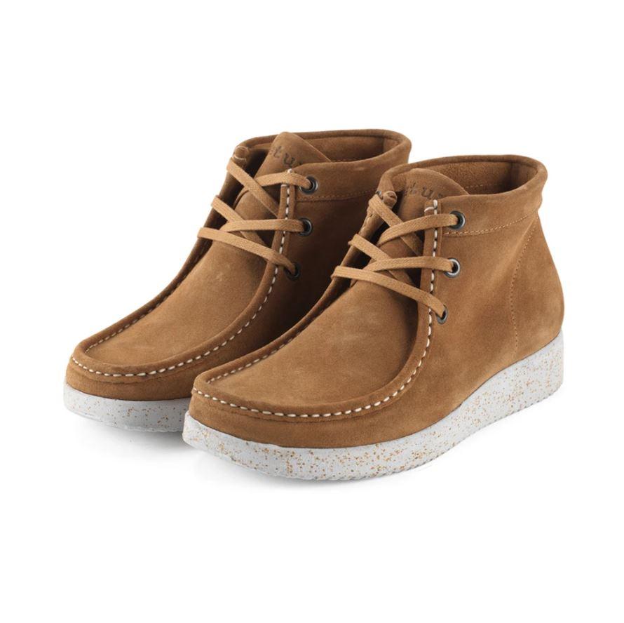 Nature Footwear Emma Suede støvle, toffee, 36