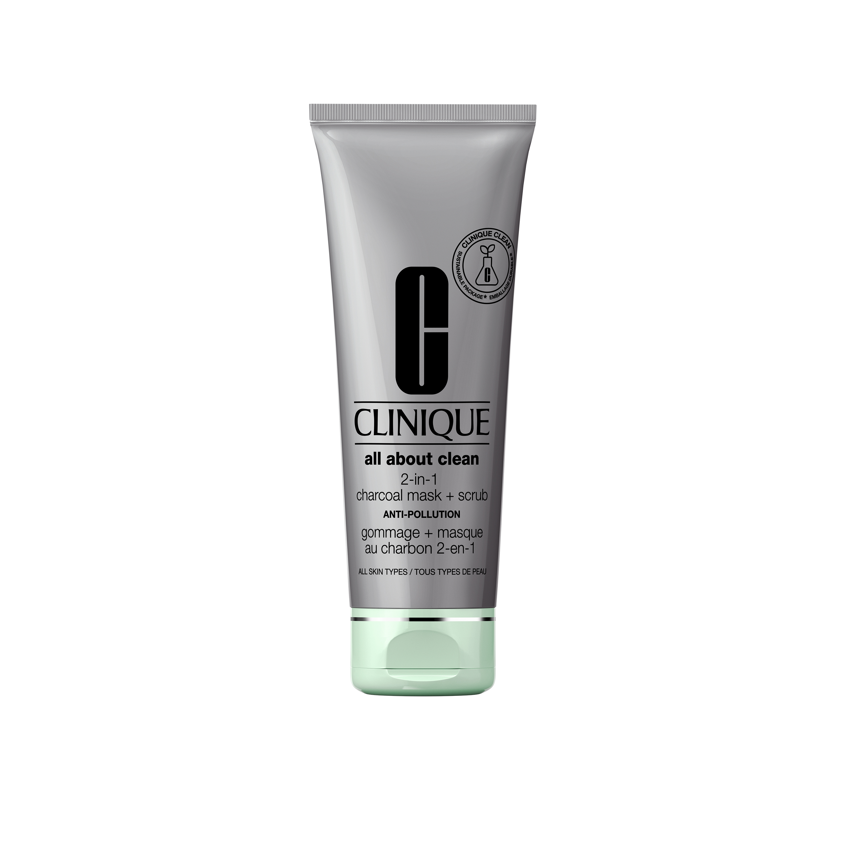 Clinique All About Clean Charcoal Mask, 100 ml