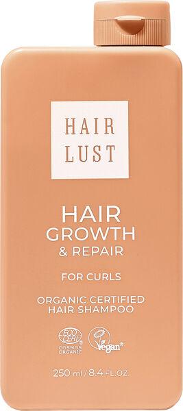 HairLust Hair Growth & Repair Shampoo For Curls