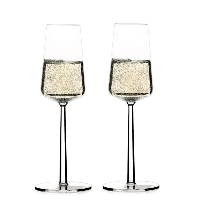 Iittala Essence champagneglas, 210 ml, 2 stk
