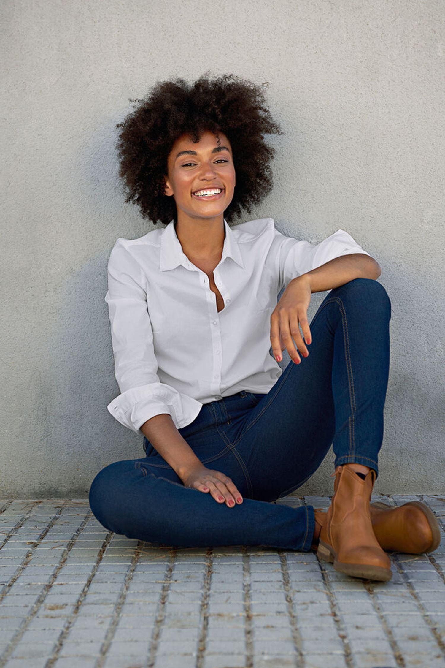 Fransa Zashirt 1 skjorte, white, x-small