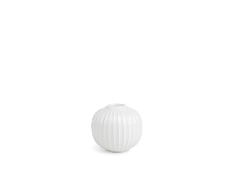 Kähler Hammershøi lysestage, 6,5 cm, hvid