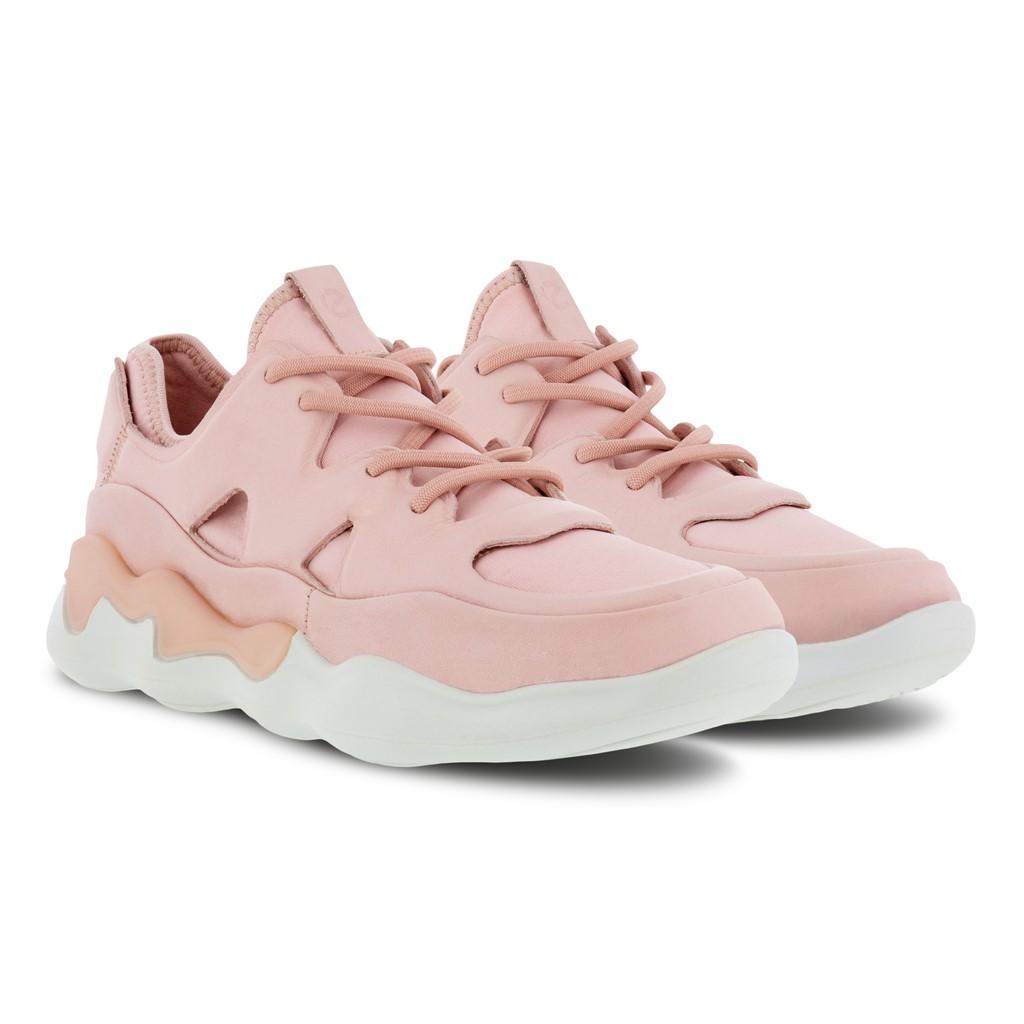 ECCO Elo W sneakers, silver/pink, 37