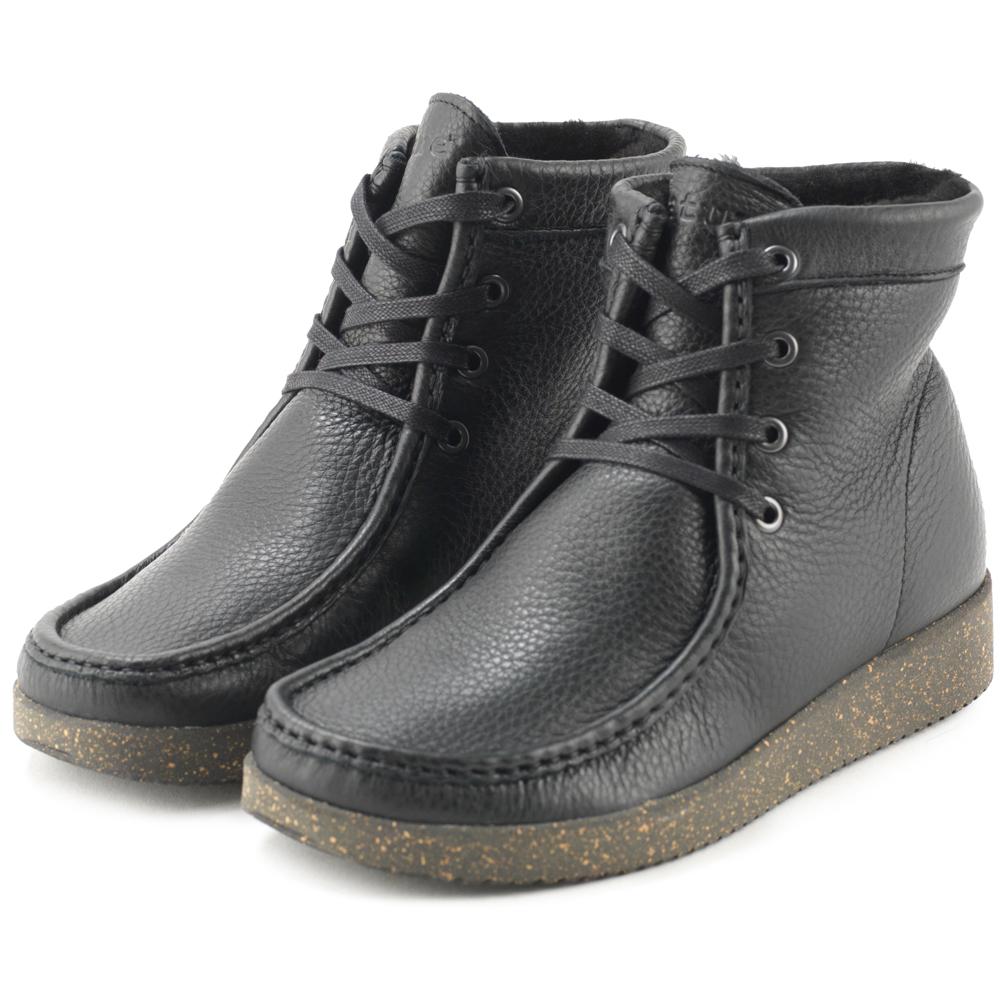 Nature Asta støvle, black, 38