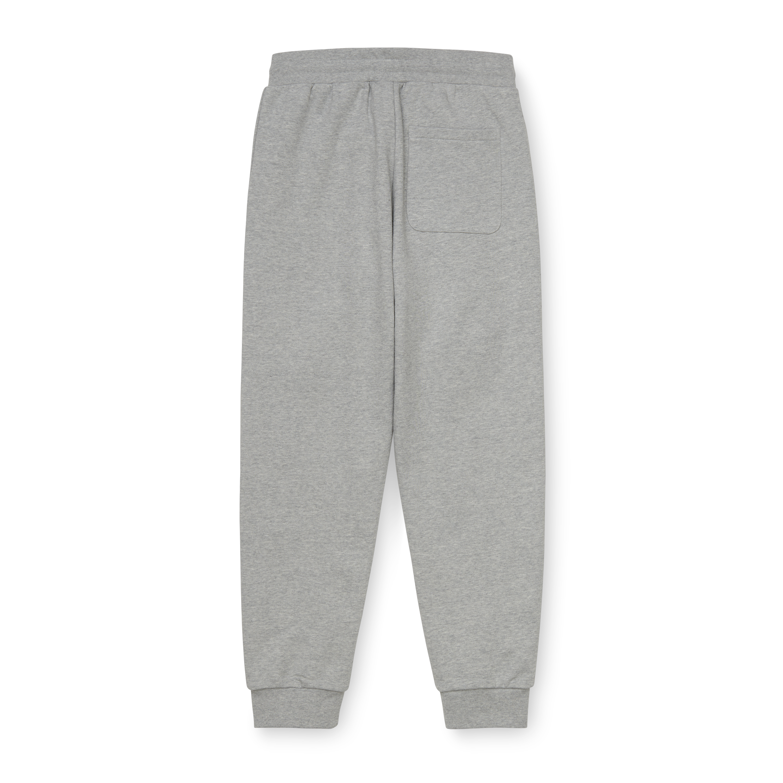 Carhartt W' Typeface sweatpants, grey heather, x-small