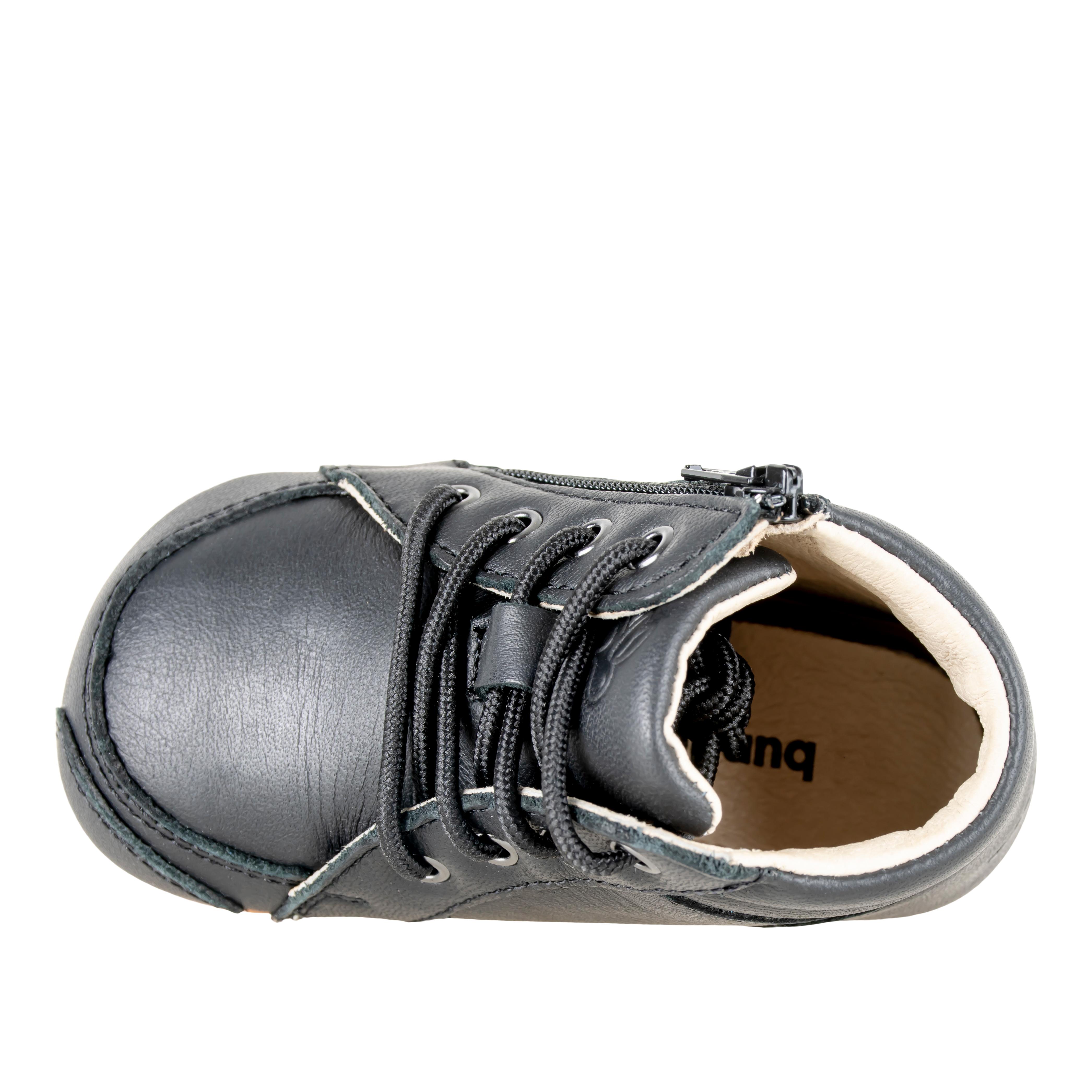 Bundgaard Prewalker ll Lace sko, black, 20