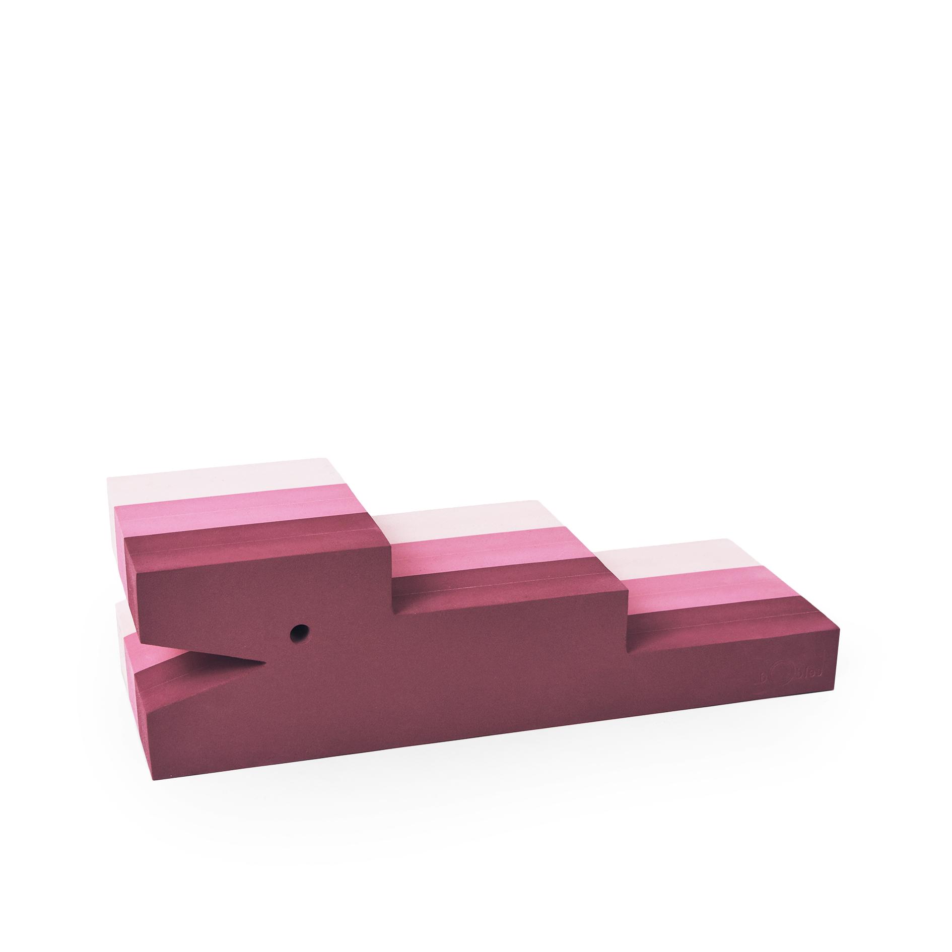 bObles krokodille, rosa