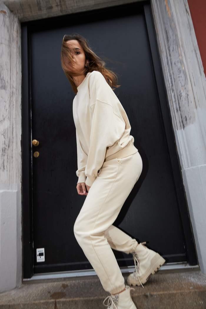 Coster Copenhagen oversize sweatshirt, vanilla, x-small