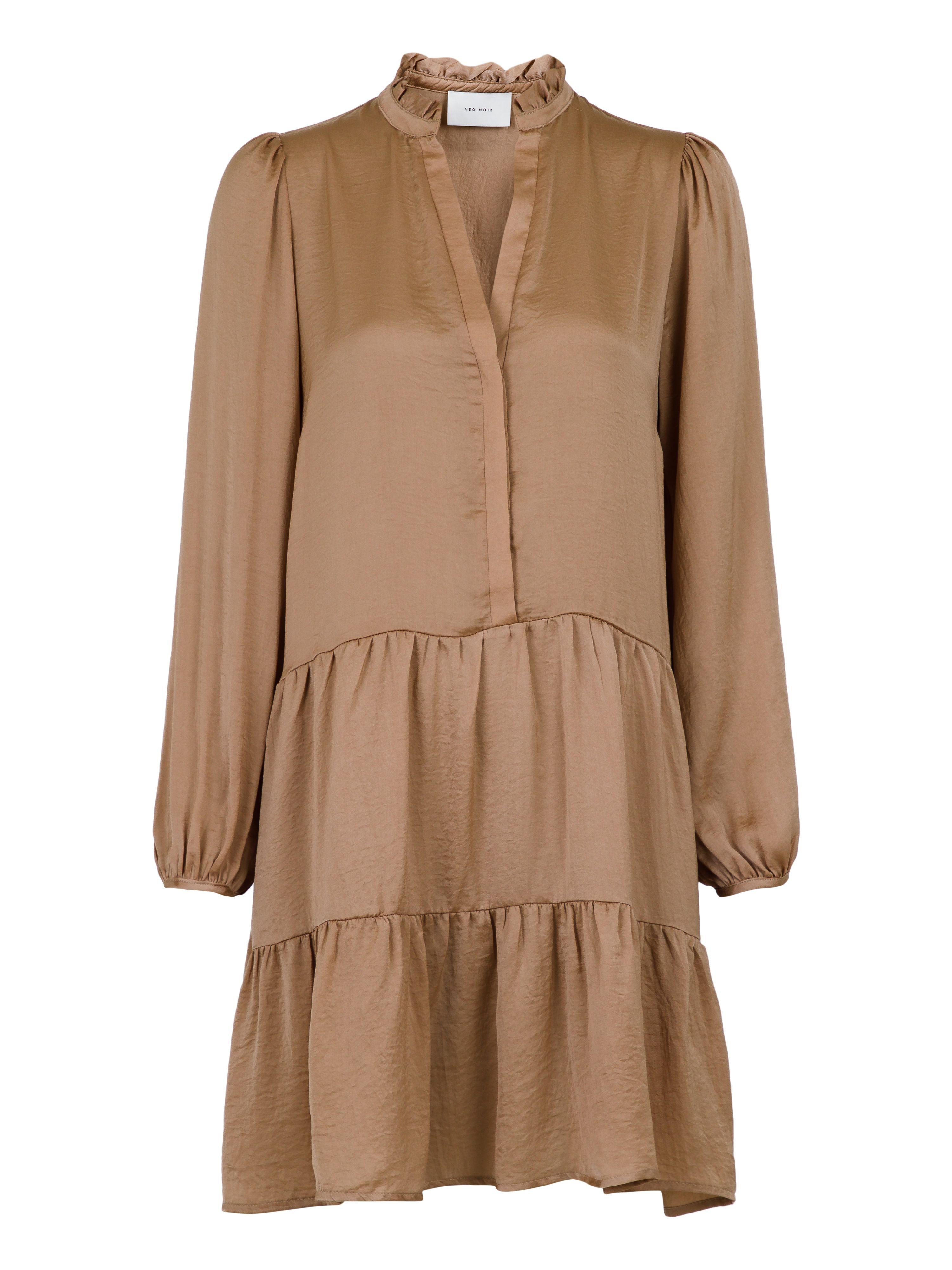 Neo Noir Federica Soft kjole, camel, large