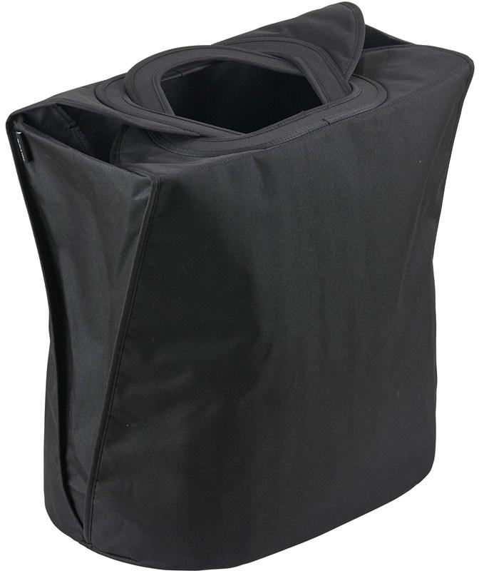 Zone vasketøjskurv, 60 liter, sort