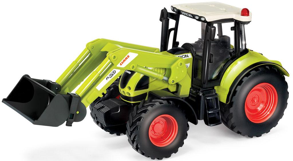 Claas Traktor med grab, størrelsesforhold 1:32