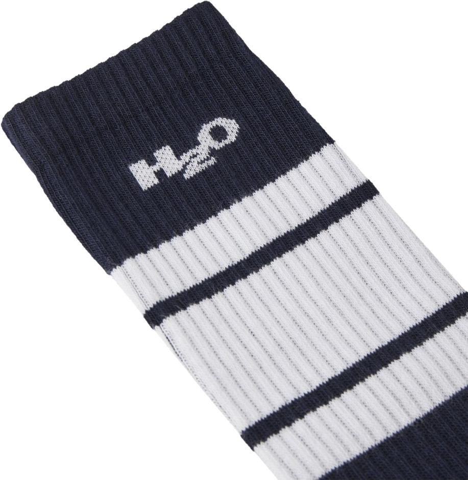 H2O Crew Sock, navy/white, 43-46