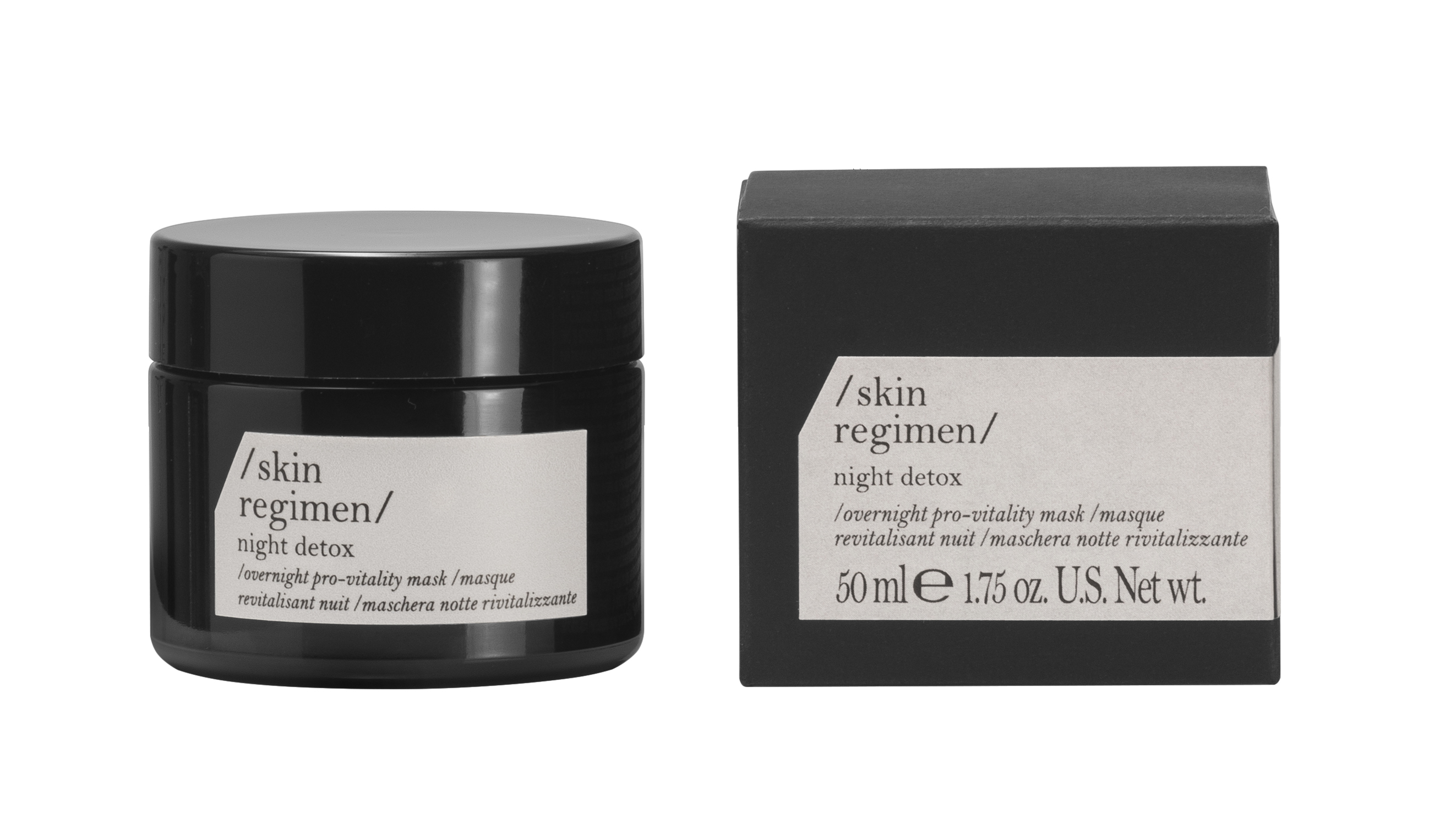 Comfort Zone Skin Regimen Night Detox Mask, 50 ml