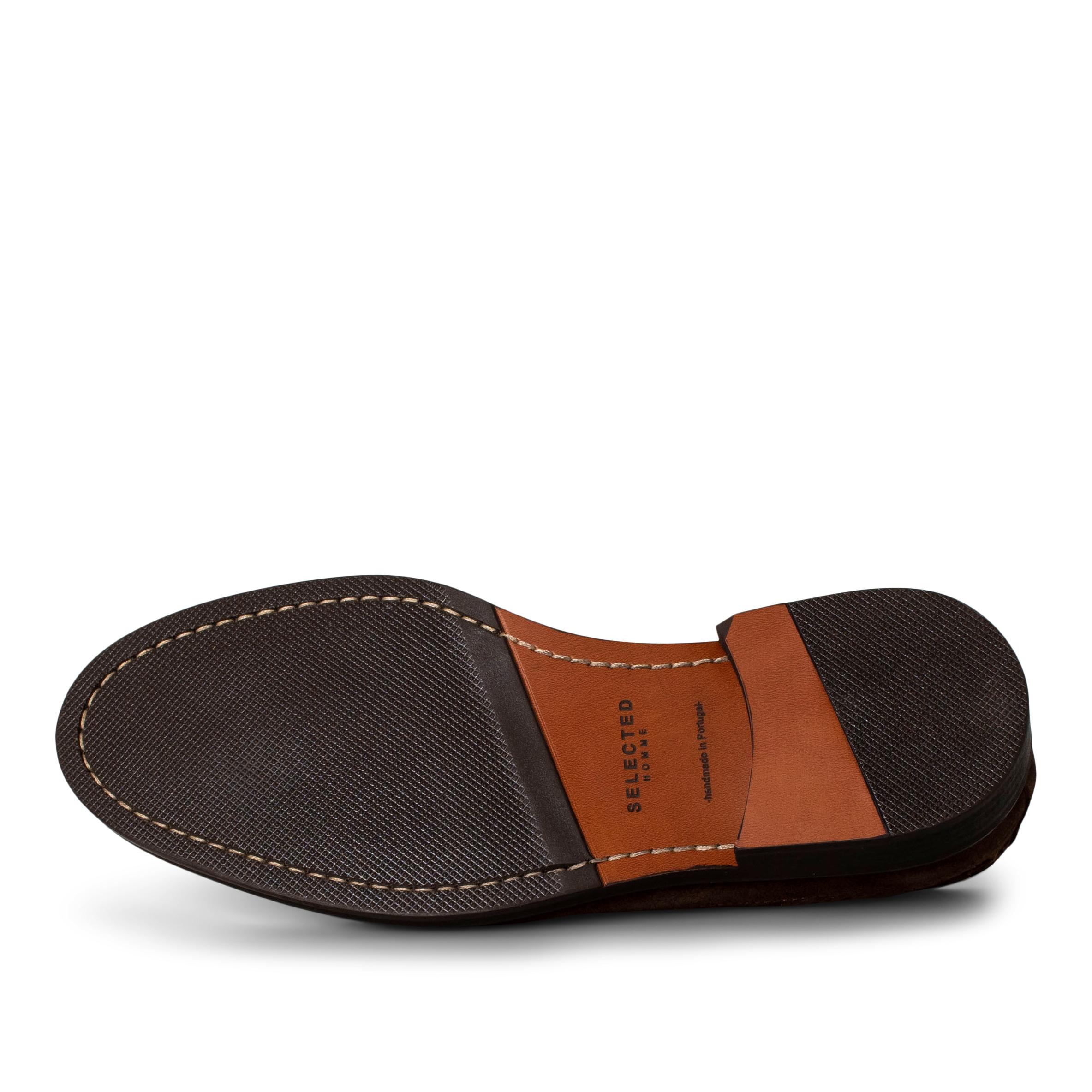 Selected Derby sko, brown, 40