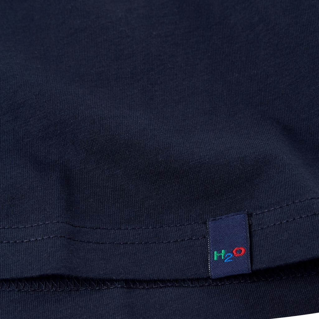 H2O Lind t-shirt, navy, small