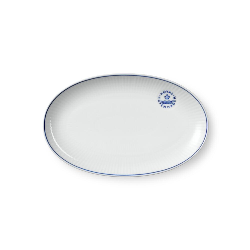 Royal Copenhagen Blueline asiet, 23 cm