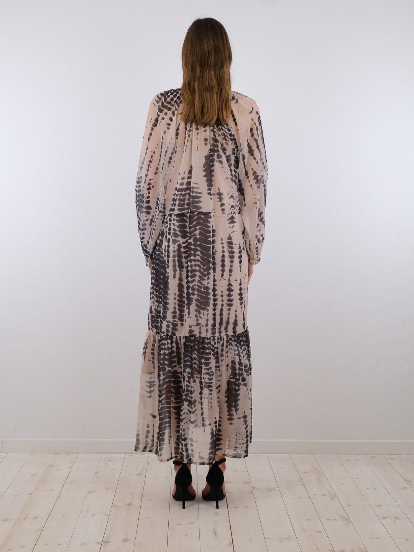 Neo Noir Hallas Easy Tie Dye kjole, black, 40