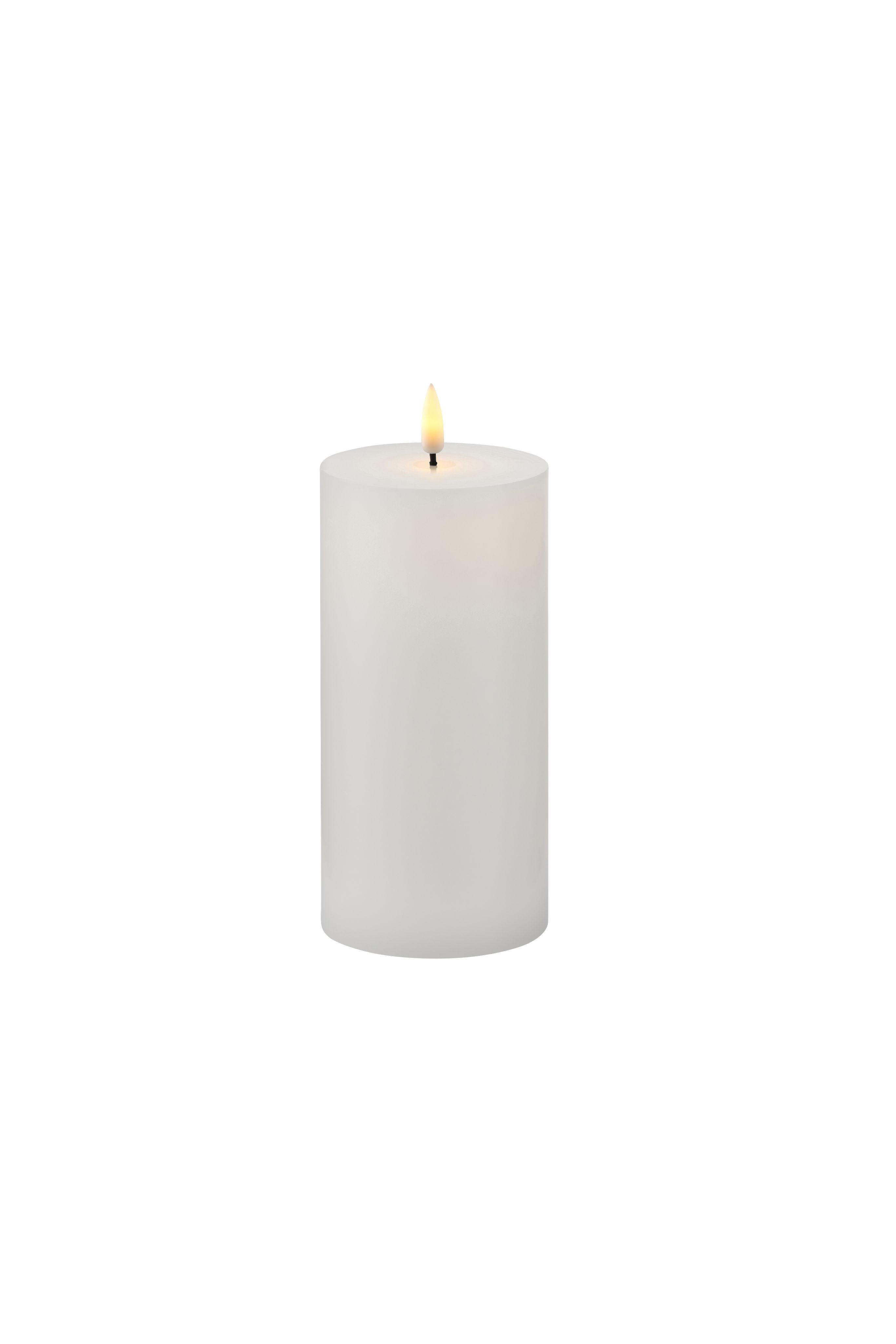 Sirius Sille Exclusive lys, 7,5x15 cm, hvid