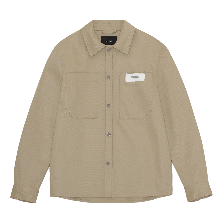 ISNURH Patch overshirt, moth, medium