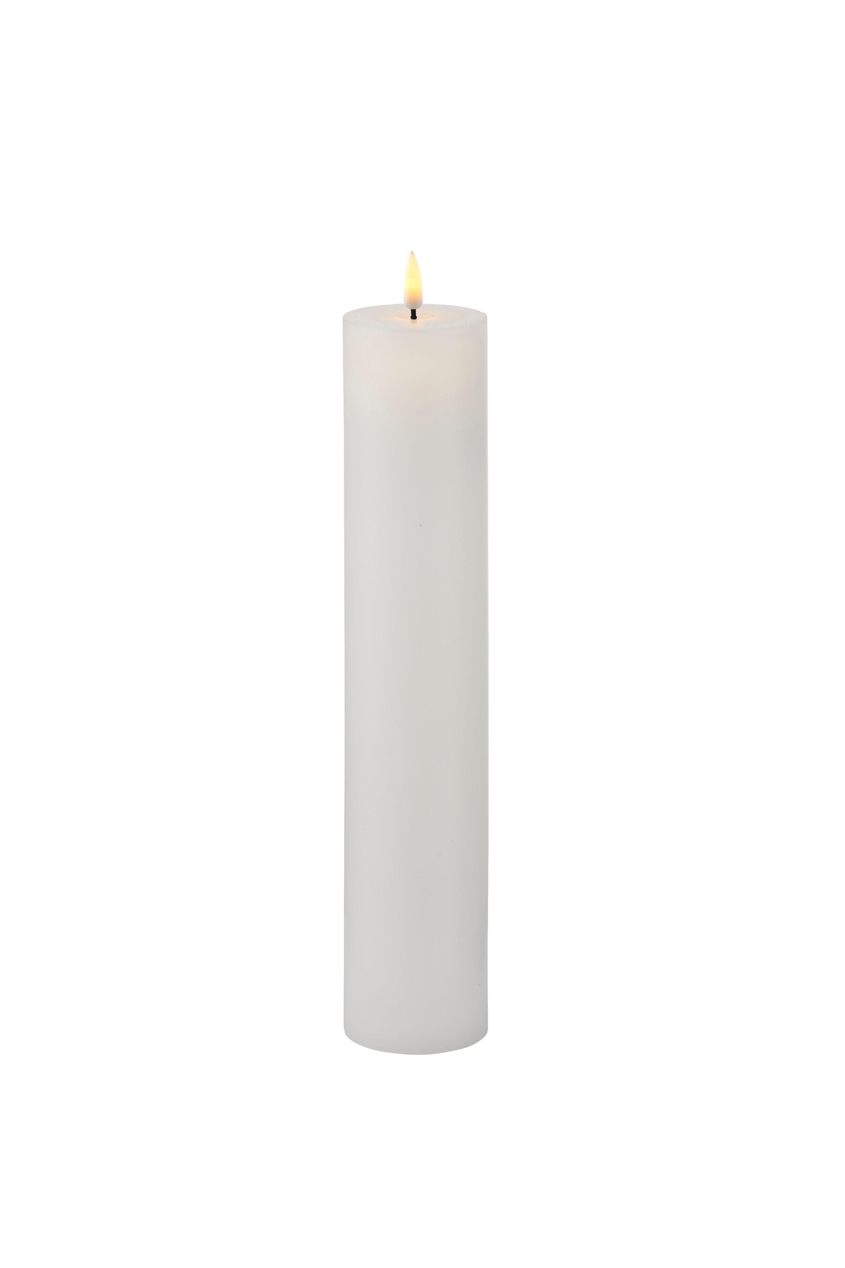 Sirius Sille Exclusive lys, 5x25 cm, hvid