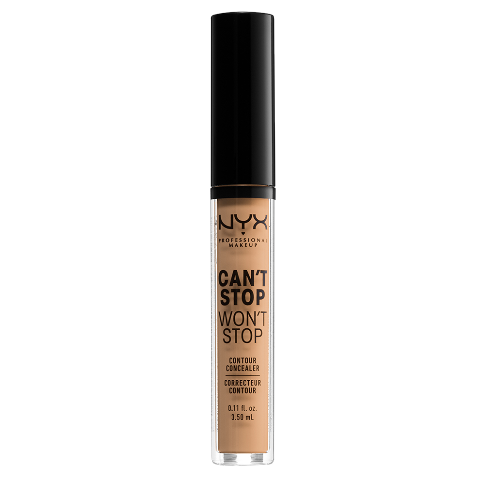 NYX Professional Makeup Cant Stop Wont Stop 24-Hours Concealer, soft beige