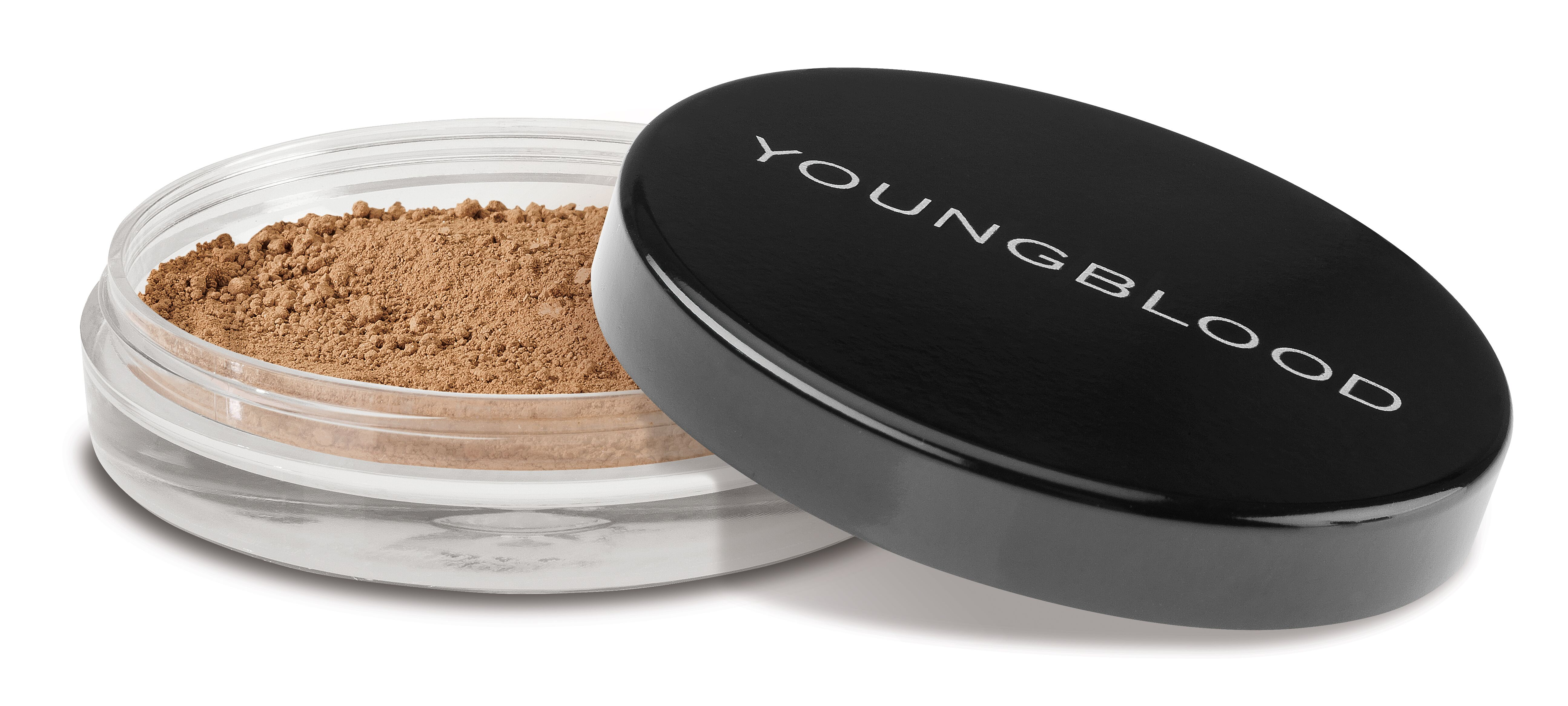 Youngblood natural loose mineral foundation, toffee