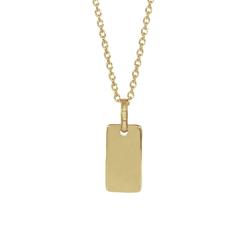 Nordahl 825 765-3 halskæde, guld