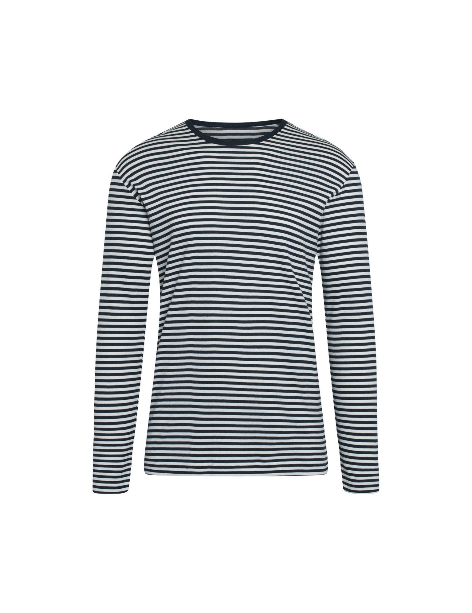 Mads Nørgaard Duo Rib Tobias langærmet t-shirt