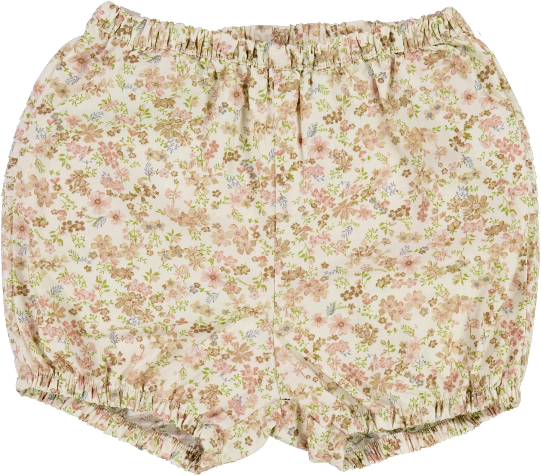 Wheat Nappy Pleats shorts