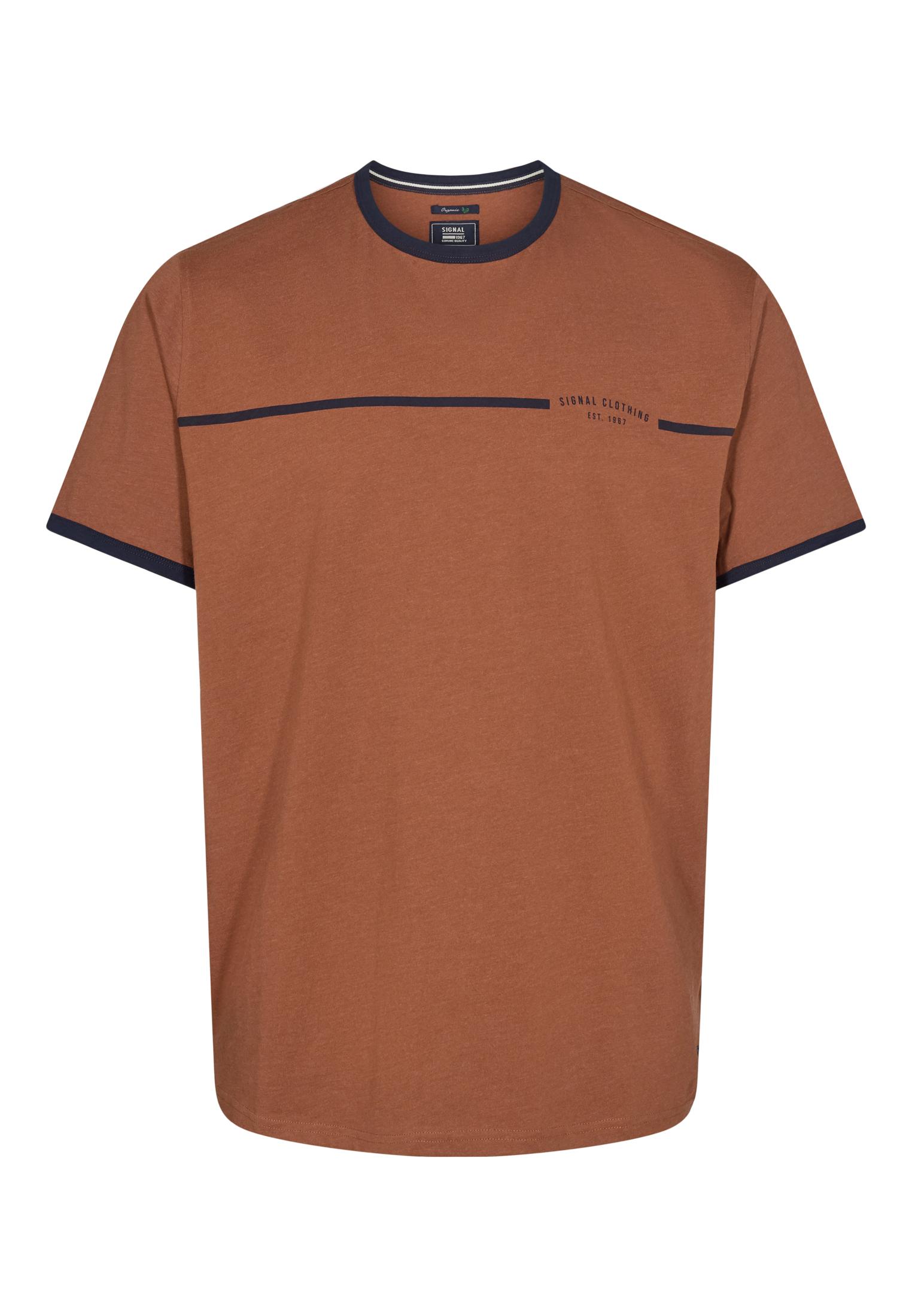Signal New Aldo T-shirt, Brun, XXL