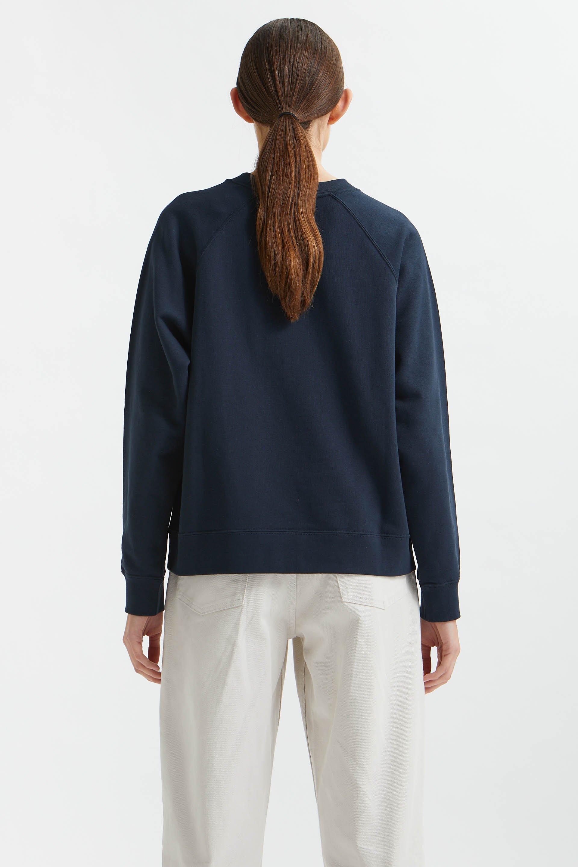 Wood Wood Hope IVY Sweatshirt, Navy, M