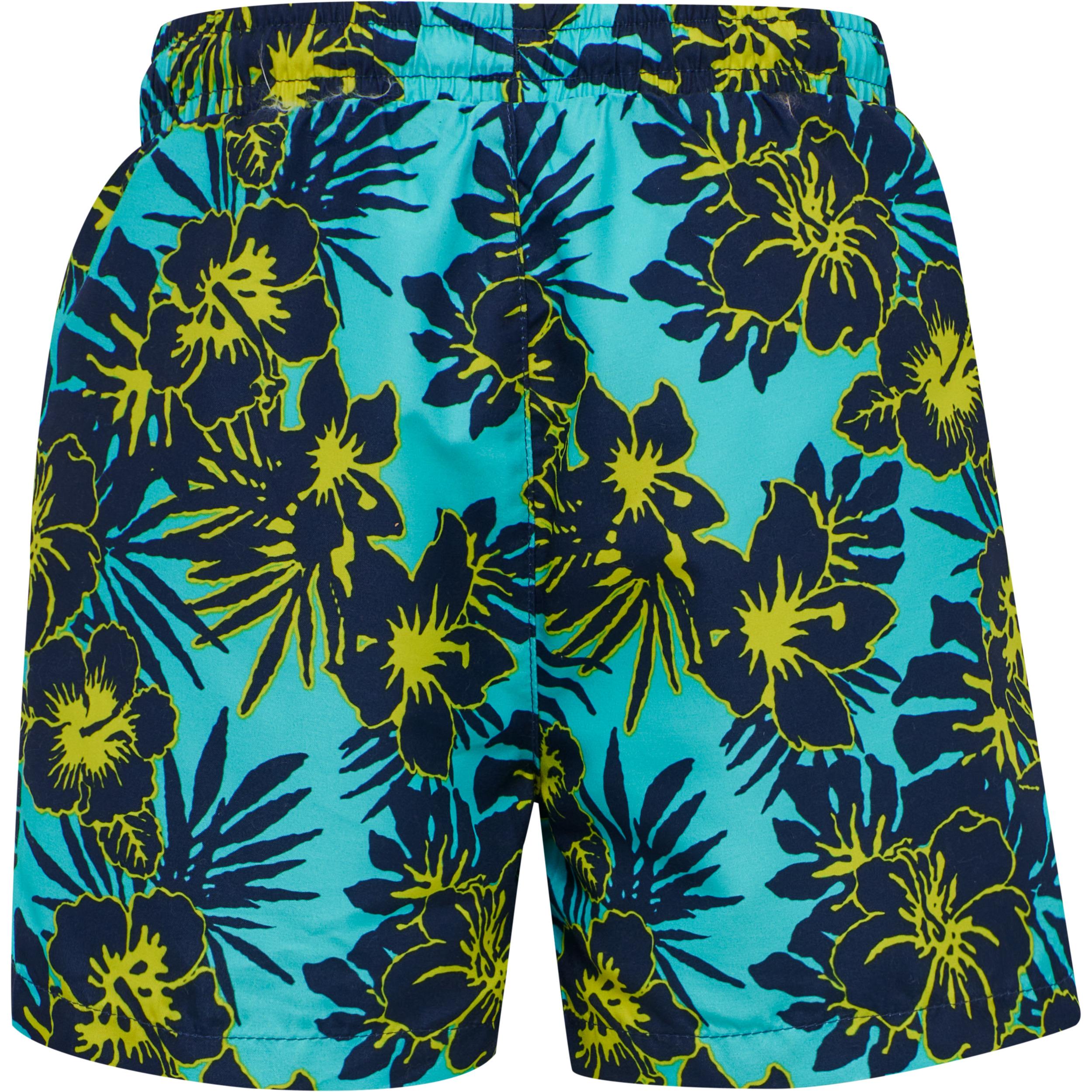 Hummel Chill Board badeshorts, scuba blue, 140